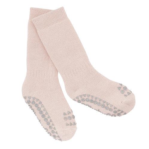 GOBABYGO sokjes anti slip pads - Pale pink glitter *sample