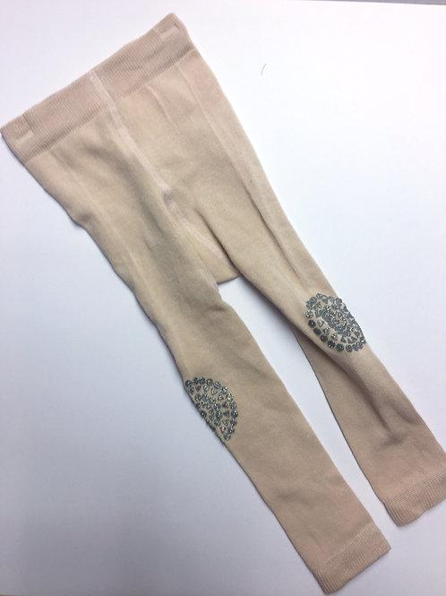 Go Baby Go Legging anti slip pads - Pale pink glitter *sample