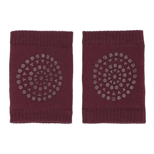 GOBABYGO anti slip kneepads - Plum *sample