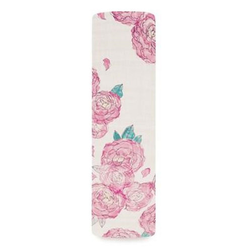 aden + anais single swaddle - Spring Peonie