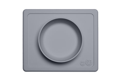 EZPZ  - Mini Bowl Grey *Sample
