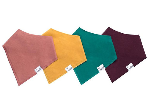 Copper Pearl bandana 4 pack - Jade