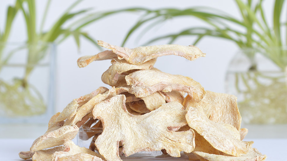 100g Dried Sliced Ginger Organic