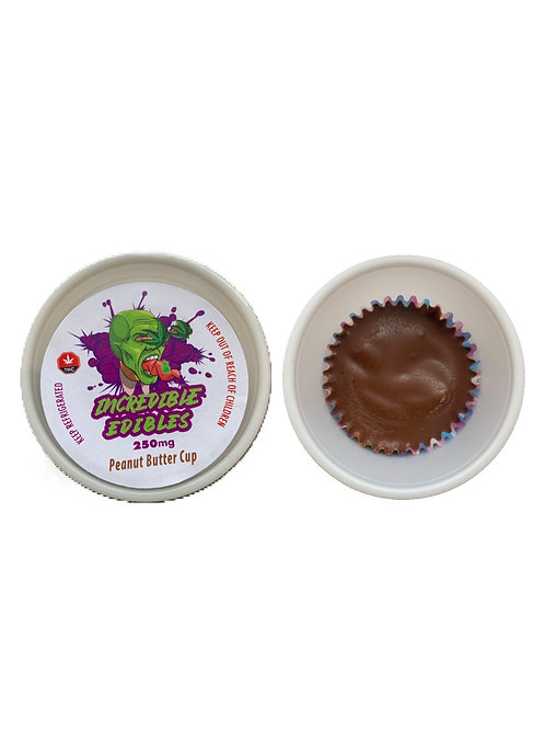 Incredible Edible - Peanut Butter Cup 250MG