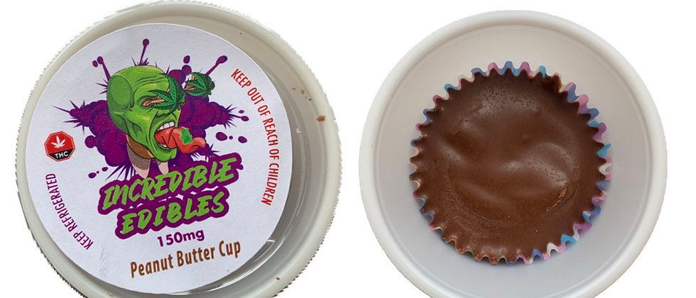 Incredible Edible - Peanut Butter Cup 150MG