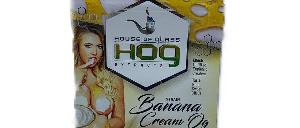 House of Glass Shatter - Banana Cream OG