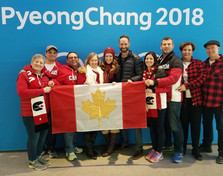 With our new Canadian friends!