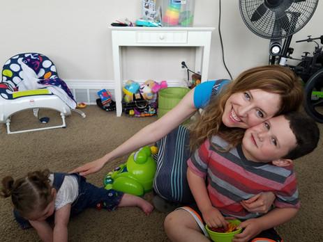 Playtime with niece & nephew