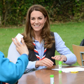 HRH The Duchess of Cambridge marks start of Joint Presidency by thanking Scouts volunteers