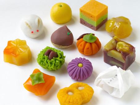 季節のお菓子のご案内