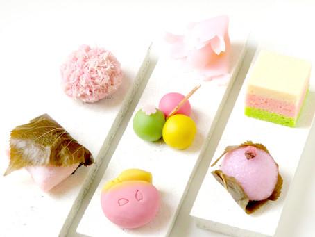 桜の生菓子のご紹介