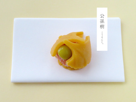 季節菓 「公孫樹」のご案内