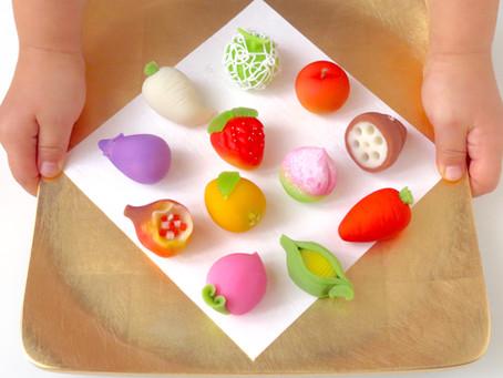 <季節限定>ひな菓子「果物(くだもの)」のご案内