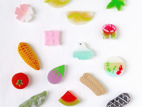 季節の干菓子のご案内