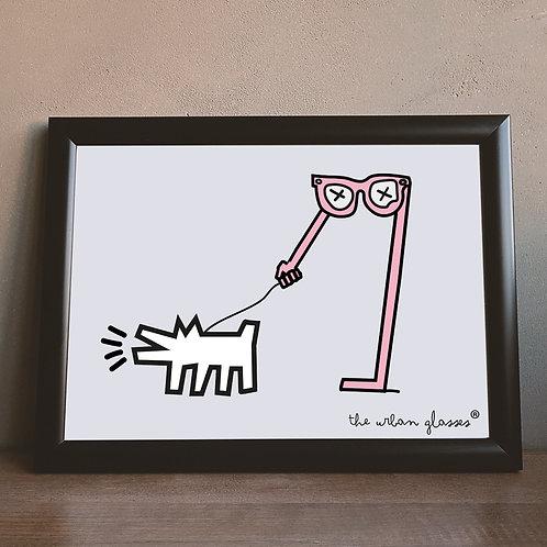 Keith Haring  Dog