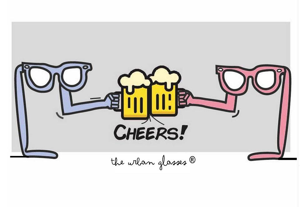 CHEERS!/ Salud!