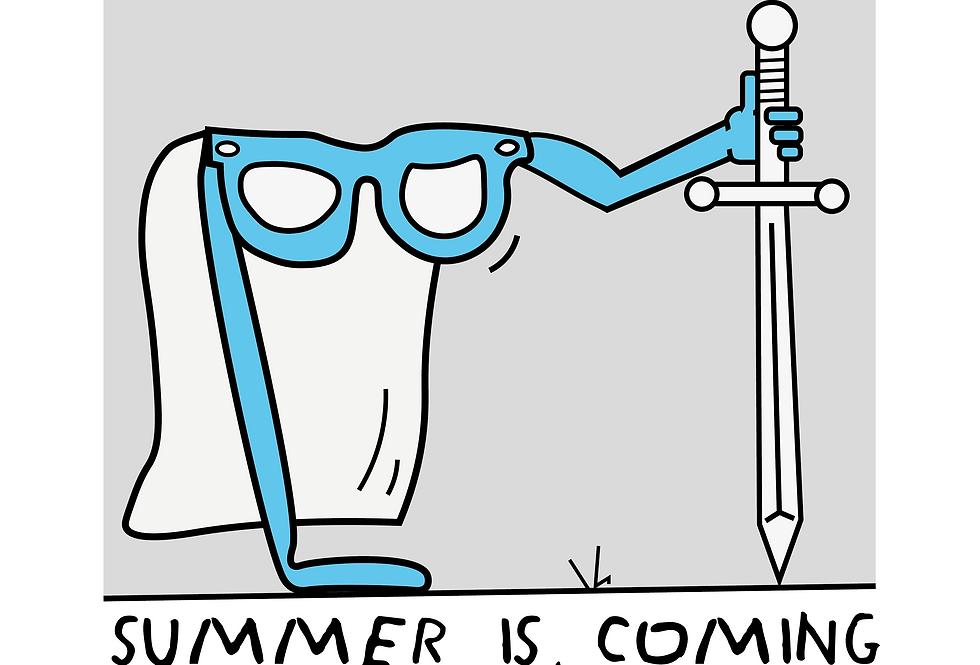 SUMMER IS COMING/El Verano está llegando