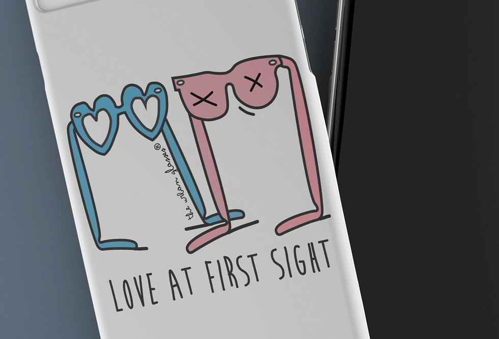LOVE AT FIRST SIGHT PHONE CASE / Funda de móvil