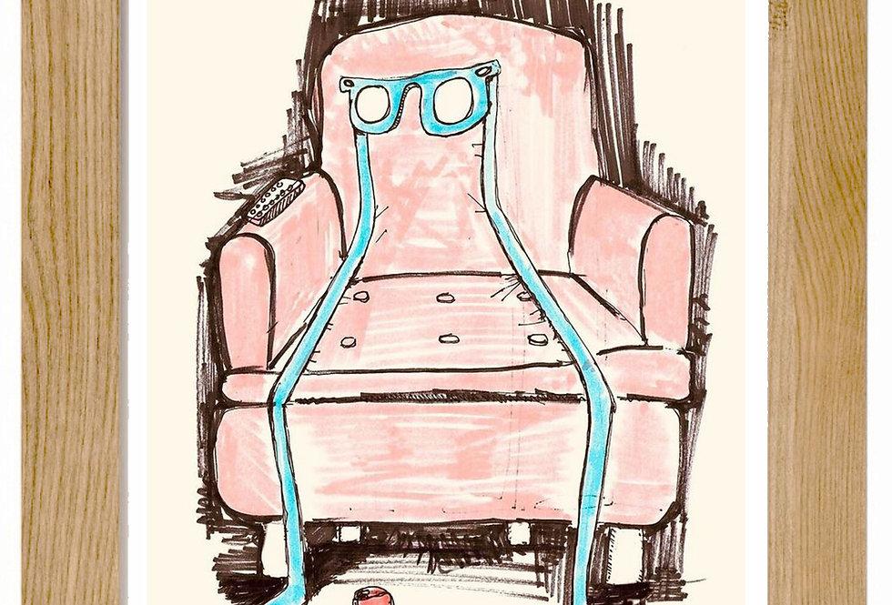 WATCHING TV/ Viendo la TV