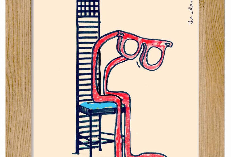 MACKINTOSH CHAIR/Silla Mackintosh