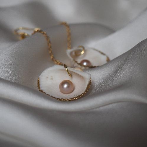 """""""Back to the Ocean"""" droplet earrings"""