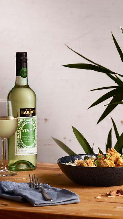 wine pairings food styling