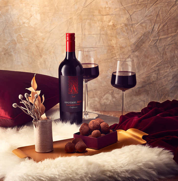 Food and Wine Pairing photography