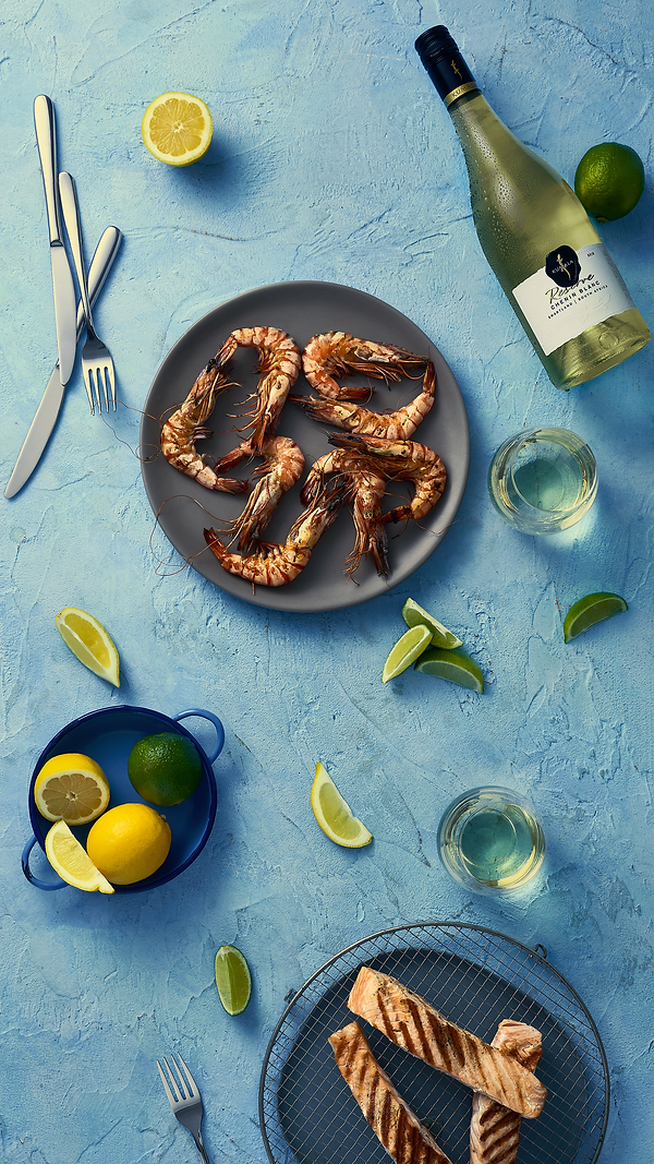 seafood art direction