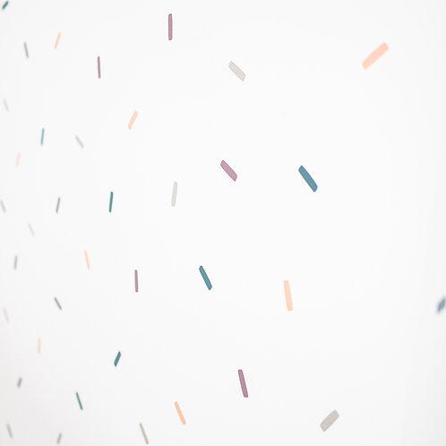 Wandsticker Confetti im 160er Set