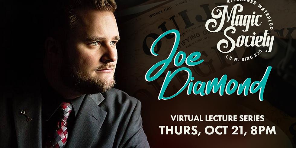 KW Magic Society Virtual Lecture Series - Joe Diamond
