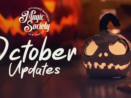 KW Magic Society October Updates