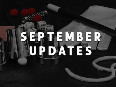 September 2021 Meeting Updates
