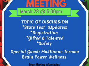 MARCH TOWNHALL MEETING