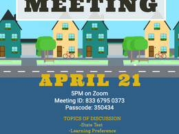 Town Hall Meeting: April