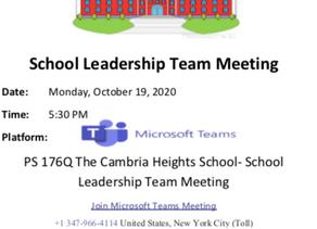SLT Meeting on 10.19.20