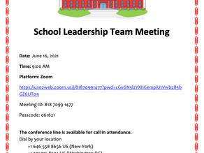 SLT Meeting