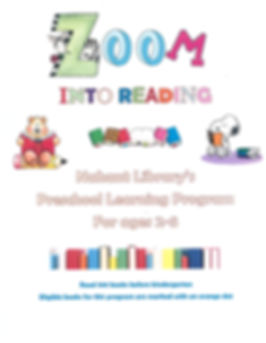 Zoom into Reading for Preschoolers