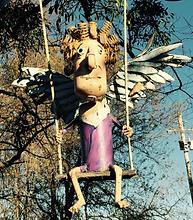 freedom swinging angel