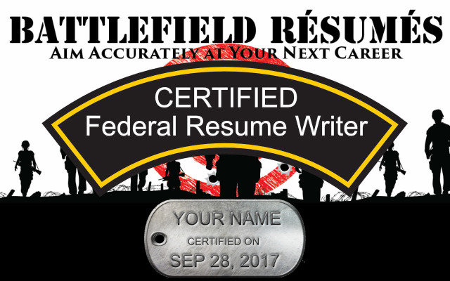 join the army of battlefield resume writers and help your veteran obtain federal employment learn how to translate military experience into powerful