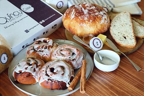June Box and Subscriptions: Rosemary - Honey No Knead Bread & Cinnamon Rolls