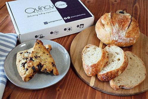 April Box: Sourdough Bread & Scones