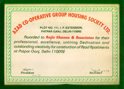Professional Excellence for Azad Co-operative Group Housing