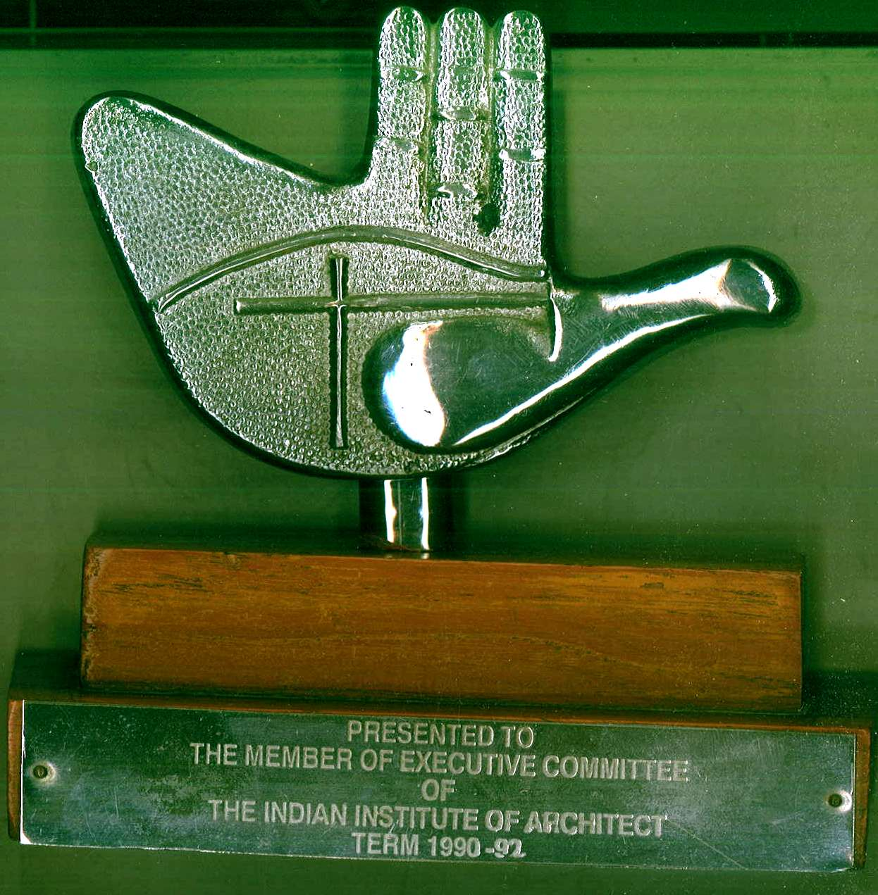 The Indian Institute of Architect Term 1990-92