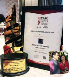 3rd Estrade Real Estate Conclave & Awards- 2017, Singapore