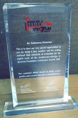 A+D Spectrum Foundation Awards 2009