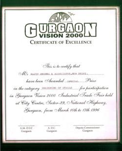 Gurgaon Vision 2000- Stall Design