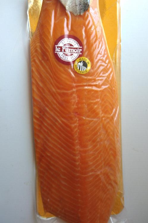 Filet de saumon fumé Ecosse superieur 10 tranches minimum