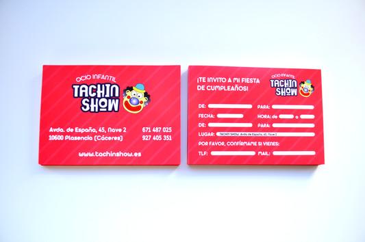 Rediseño Flyers Tachín-Show