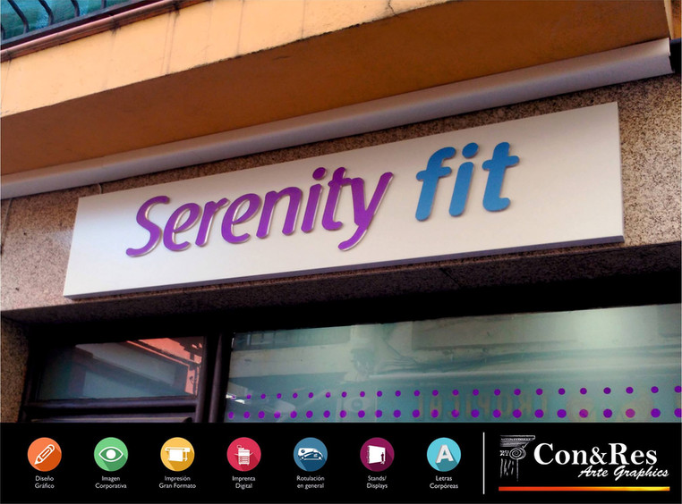 Rótulo Mixto Serenity Fit