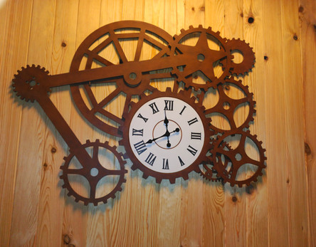 Reloj Fresado fabricado desde 0 por encargo especial